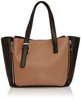 Ravel Womens Daytona Top-Handle Bag Black/Mink