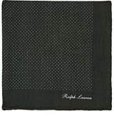 Ralph Lauren Purple Label Men's Pin-Dot Cashmere Pocket Square