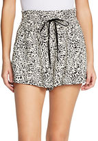 Jessica Simpson Leopard Printed Bobbi Shorts
