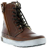Blackstone Leather Lace-Up High Top Sneakers