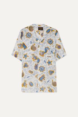 Loewe + Paula's Ibiza Printed Cotton Shirt - White