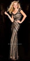 Scala Two Toned Stripe Dress