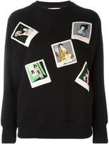 Olympia Le-Tan geisha print sweatshirt