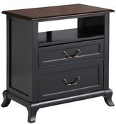 Pier 1 Imports Marchella Rubbed Black Nightstand