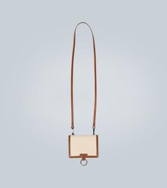 Dolce & Gabbana Leather-trimmed belt bag