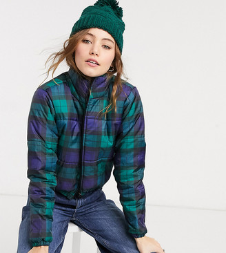 Wednesday's Girl padded jacket in check
