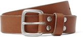 J.crew - 2.5cm Brown Brody Washed-leather Belt