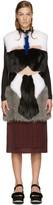 Fendi Multicolor Karlito Fox Fur Vest