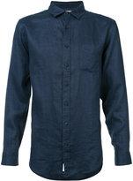 Onia Abe linen shirt - men - Linen/Flax - M