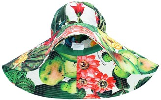 Dolce & Gabbana Exclusive to Mytheresa Printed cotton-poplin hat