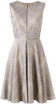 Talbot Runhof sequin embellished dress - women - Cotton/Polyester/Acetate/Polyacrylic - 34