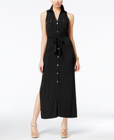 MICHAEL Michael Kors Maxi Shirtdress