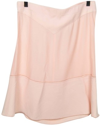 Pinko Pink Silk Skirt for Women