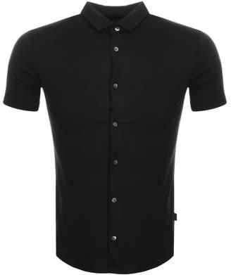 Giorgio Armani Emporio Slim Fit Polo T Shirt Black