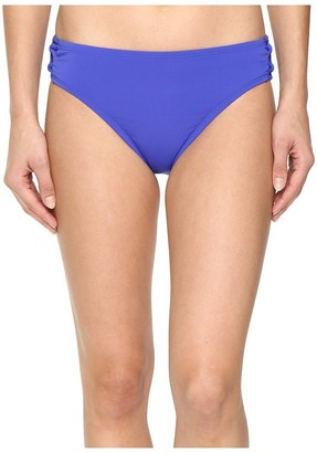 Bleu Rod Beattie Bleu | Rod Beattie Women's Knotty But Nice Solid Lattice Midster Bikini Bottom