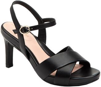 Taryn Rose Jacki Butter Weatherproof Leather Sandal