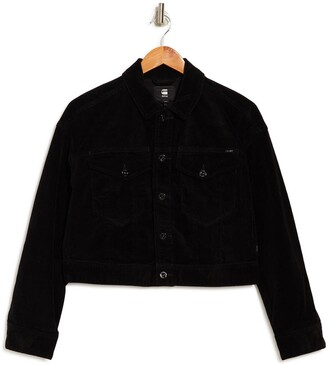 Cropped Woven Jacket