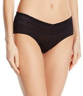 Warner's Women's Body Heaven Muffin Top Lace Hipster