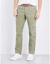 Polo Ralph Lauren Distressed Cotton Trousers