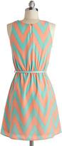 Great Wavelengths Dress in Pastel