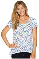 Fresh Produce Tile Play Luna Top Women's Clothing