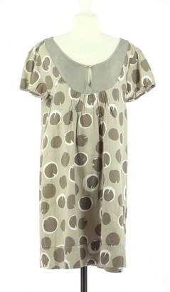 Hartford Beige Cotton Dress for Women