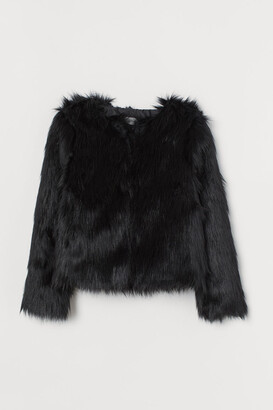 H&M Faux fur jacket