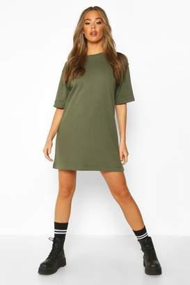 boohoo T-Shirt Sweat Mini Dress