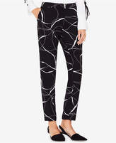 Vince Camuto Printed Skinny Pants