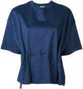 Kenzo drawstring top - women - Cotton - L