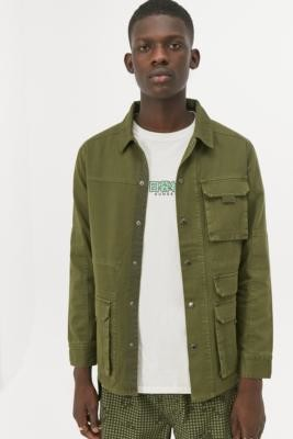 Urban Outfitters Native Youth Khaki Eli Jacket - Green S at