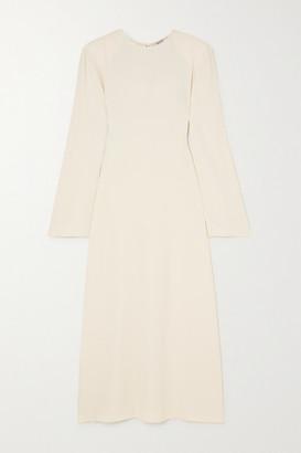 GAUCHERE Stanie Crepe Midi Dress - Ivory