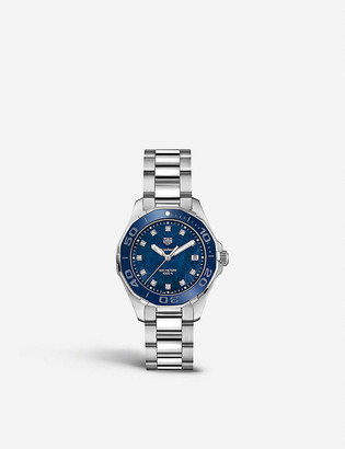 Tag Heuer WAY131L.BA0748 Aquaracer stainless steel watch