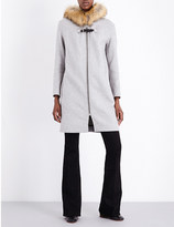 Maje Grafo wool-blend coat