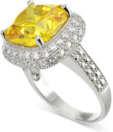 Giani Bernini Yellow Cubic Zirconia Ring in Sterling Silver, Only at Macy's