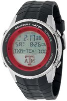 Game Time Texas A&M Aggies Stainless Steel Digital Schedule Watch - Men