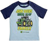 John Deere Baby Boy Family Graphic Raglan Tee