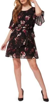 Dex Printed Tiered Sun Dress
