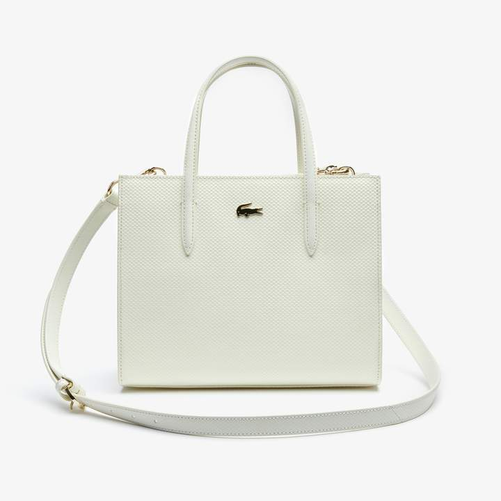 447e9099544 Lacoste Leather Handbags - ShopStyle