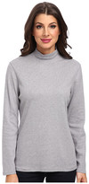 Pendleton L/S Mock Neck Cotton Rib Tee