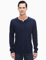 Splendid Faded Thermal Henley