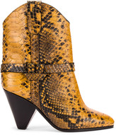Isabel Marant Deane Boot in Yellow | FWRD