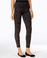Style&Co. Style & Co. Printed Tummy-Control Leggings, Only at Macy's