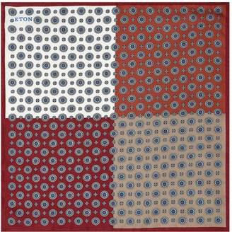 Eton Silk Four Side Pocket Square