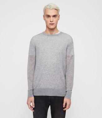 AllSaints Rekk Crew Sweater