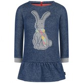 Oilily OililyGirls Blue Hanuka Hare Sweater Dress