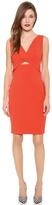 Robert Rodriguez Tech Suiting Cutout Dress