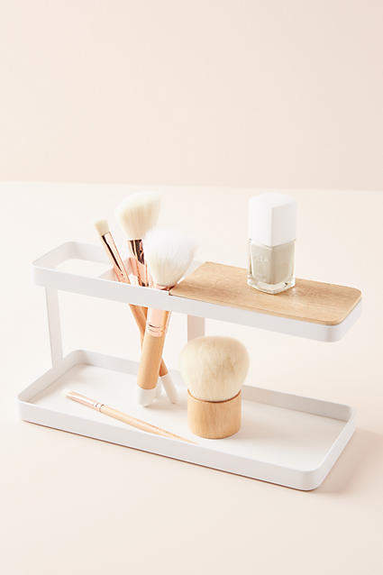 Anthropologie Streamlined Vanity Storage By in White Size ALL