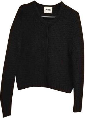Acne Studios Black Wool Knitwear
