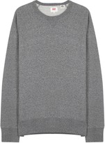 Levi's Grey Cotton Sweatshirt